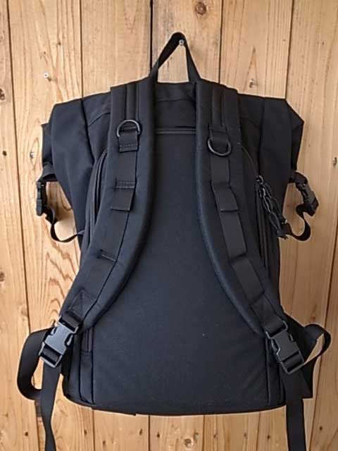 MIS エムアイエス ROLL UP BACKPACK ロールアップ バックパック MADE IN CALIF USA BLACK ブラック