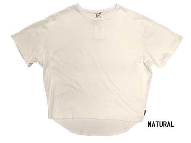GOHEMP ゴーヘンプ HONEY TEE H/OC JERSEY ハニー Tシャツ ヘンプ オーガニックコットン ジャージー 半袖 go hemp 2020モデル