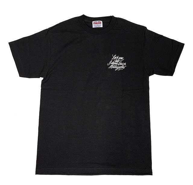 PORKCHOP GARAGE SUPPLY ポークチョップ ガレージサプライ LOVE YOU TEE ラブユー Tシャツ 2色(WHITE/BLACK) 半袖