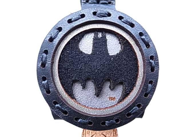 BATMAN バットマン × Ojaga design オジャガデザイン バットマン キーキャップ ブラック/グレー メイドインジャパン Ojagadesign オジャガ デザイン