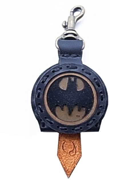 BATMAN バットマン × Ojaga design オジャガデザイン バットマン キーキャップ ブラック/ベージュ メイドインジャパン Ojagadesign オジャガ デザイン
