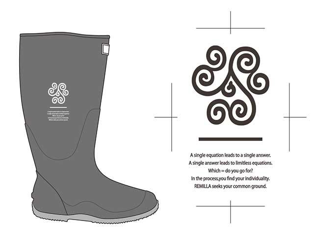 remilla レミーラ ナガグツ 長靴 R21-1234 2021 Spring Summer