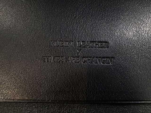 【受注生産】 KUBIKI LEATHER クビキレザー × TAC トラッカーズ ウォレット ロング ウォレット ハンドメイド くびき