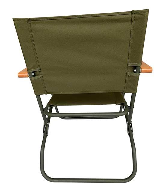 イギリス軍タイプ Low Style Rover Chair フォールディングチェアー ローバーチェアー 折りたたみ椅子 コットンキャンバス張り スチール チェアー 椅子  Military ミリタリー【新品】