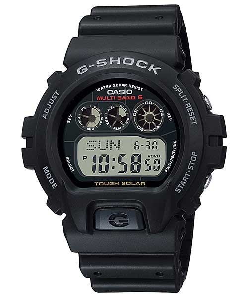CASIO カシオ G-SHOCK ジーショック 6900 SERIES GW-6900 BLACK ブラック 腕時計