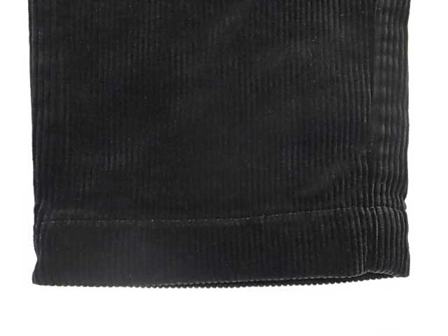 GOWEST × Style&Respect ゴーウエスト × スタイル&リスペクト 当店別注 Black Corduroy Pants ブラック コーデュロイ パンツ GO WEST Made in JAPAN 日本製