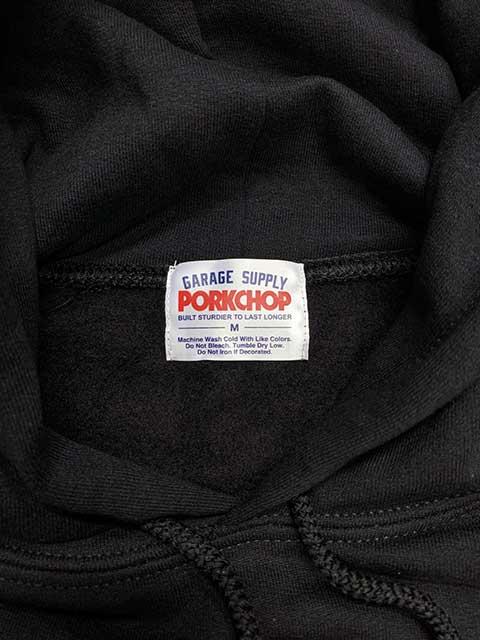 PORKCHOP ポークチョップ SPEED SLAVE HOODIE スピード スレイブ フーディ 2色(BLACK/WHITE)スウェット パーカー