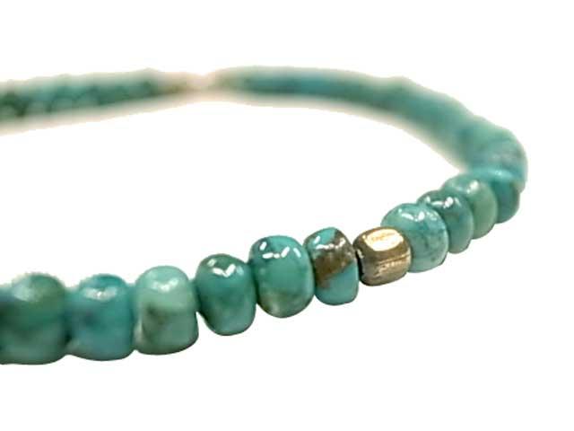 Sunk サンク  Turquise Beads(bt) Bracelet ターコイズ ビーズ ブレスレット 天然石