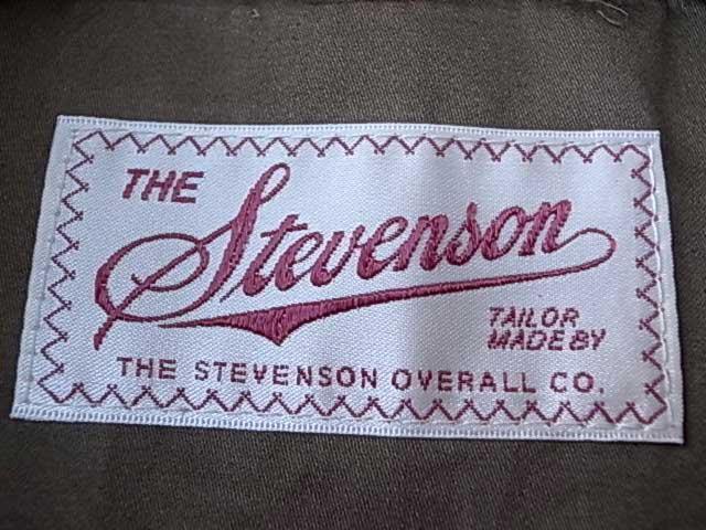 STEVENSON OVERALL CO. スティーブンソン オーバーオール INTERMEDIATE FLIGHT JACKET Hellcat - AN-J3 ホースハイド