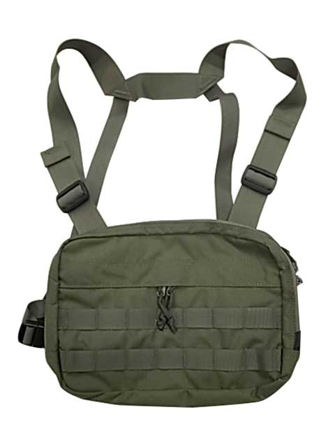 MIS エムアイエス CHEST RIG 3色(BLACK/CAMO GREEN/COYOTE)MADE IN CALIF USA