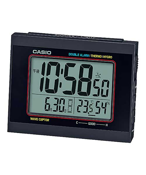 CASIO カシオ CASIO CLOCK カシオクロック 置き時計 2色(BLACK/YELLOW)