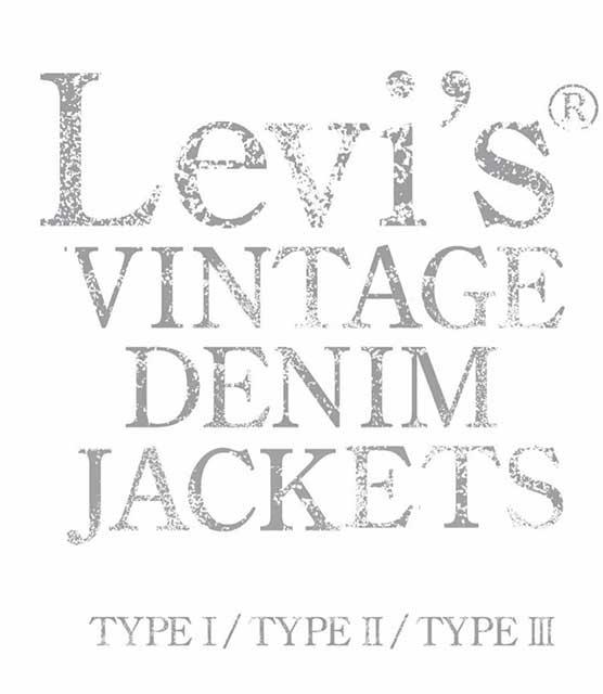 Levi's VINTAGE DENIM JACKETS TYPE � . TYPE � . TYPE � A4変形ハードカバー 200ページ 通常盤 送料込 リーバイス ヴィンテージ ファースト セカンド サード Gジャン 本