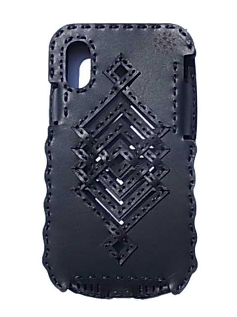 Ojaga design オジャガデザイン PISCES iPhoneXケース ブラック アイフォンXケース メイドインジャパン