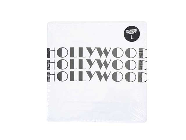【SALE 40%OFF】 HOLLYWOOD RANCH MARKET ハリウッドランチマーケット SCREEN STARS HRM 3HOLLYWOOD Tシャツ WHITE ホワイト