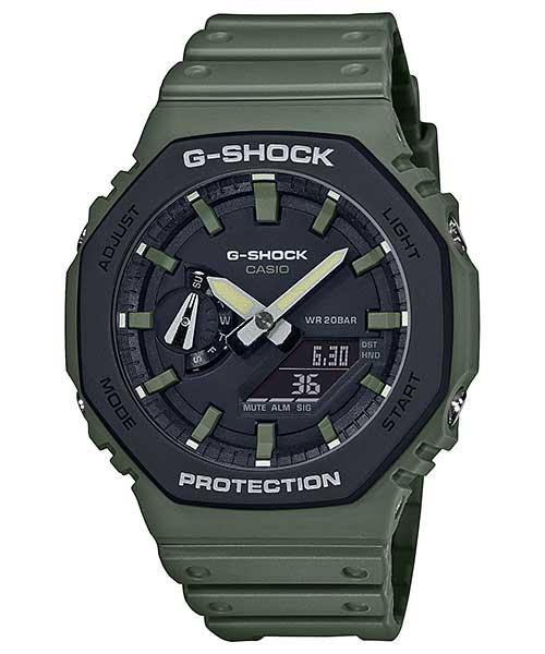 CASIO カシオ G-SHOCK ジーショック SPECIAL COLOR GA-2110SU OLIVE オリーブ 腕時計