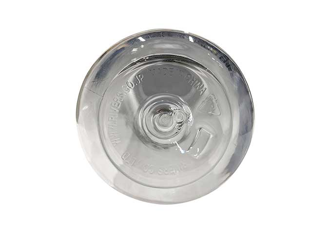 PORKCHOP GARAGE SUPPLY ポークチョップ ガレージサプライ REUSE BOTTLE Type-A 500ml 2色(Black/Clear)