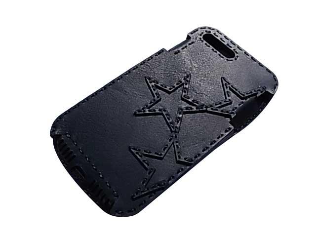 Ojaga design オジャガデザイン OJAGA STAR iPhone7Plus/8Plusケース BLACK アイフォン7プラス/8プラスケース メイドインジャパン