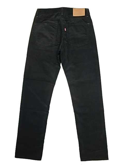 GO WEST ゴーウエスト CARROT FIT 5PK PANTS BLACK CORDUROY ブラック コーデュロイ テーパード スリム パンツ
