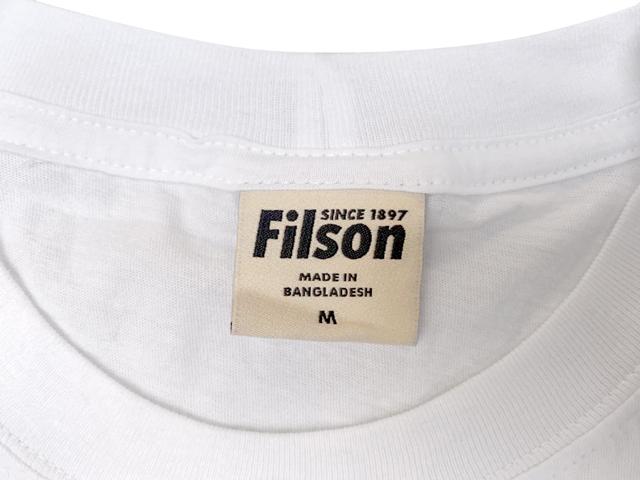FILSON フィルソン #05635 S/S RANGER GRAPHIC T-SHIRT グラフィック Tシャツ WHITE ホワイト