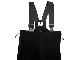 【DEAD STOCK】OVERALLS COLD WEATHER SYNTHETIC FLEECE  BLACK ブラック 米軍 POLARTEC(ポーラテック) ECWCS パンツ用ライナー オーバーオール フリース BIB