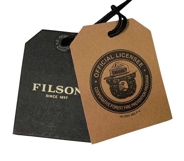 FILSON フィルソン #04550 Smokey Bear Logger Low-Profile スモーキーベア ロウ プロファイル 1-190 GREEN 帽子