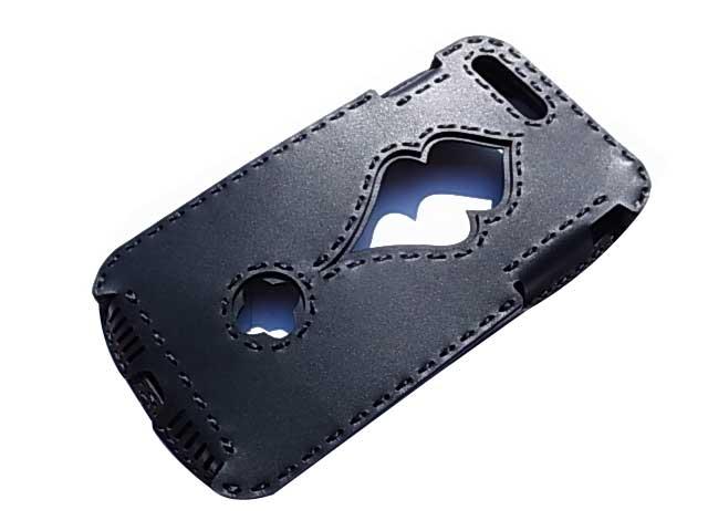Ojaga design オジャガデザイン PAFURI iPhone7Plus/8Plusケース ブラック アイフォン7プラス/8プラスケース メイドインジャパン