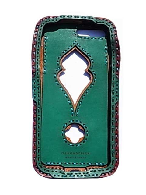 Ojaga design オジャガデザイン PAFURI iPhone7Plus/8Plusケース エメラルド アイフォン7プラス/8プラスケース メイドインジャパン