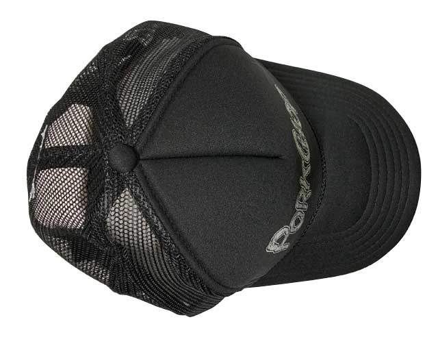 PORKCHOP GARAGE SUPPLY ポークチョップ ガレージサプライ DRIPPING PCGS CAP ドリッピング キャップ 帽子 3色(BLACK/NAVY/WHITE)