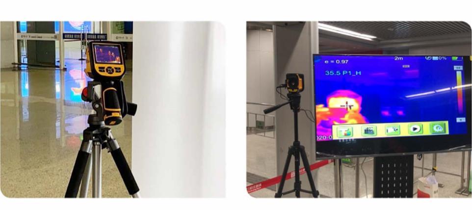 DALI 熱画像体温スクリーニング装置 TE-W400H