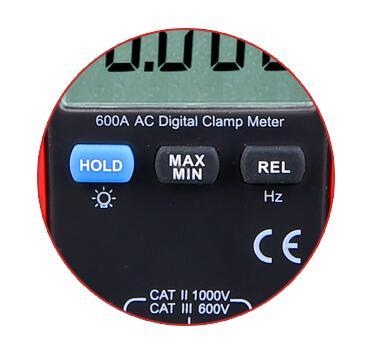 UTI 真の実効値デジタルクランプメーター UT216B