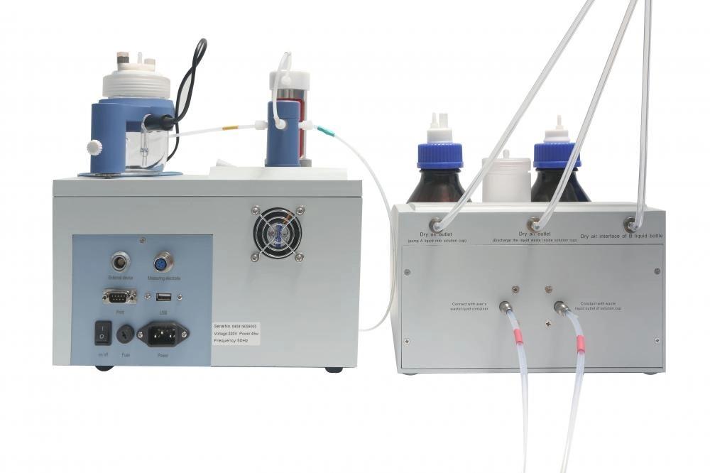 REX カールフィッシャー滴定装置 ZDY-502