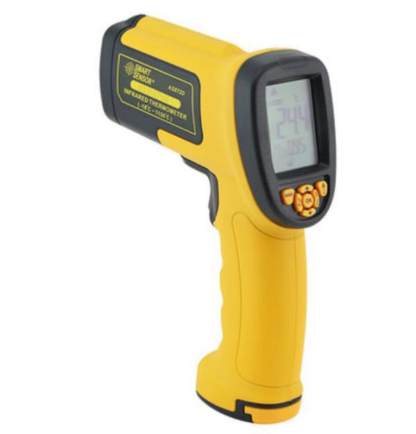 SMART SENSOR 高温度対応赤外線温度計 AS872D