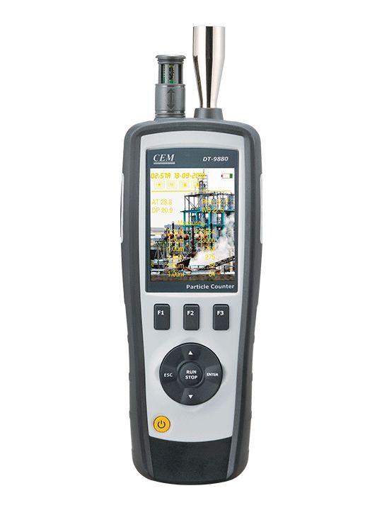 CEM PM2.5 / PM10 粒子粉塵計数器 DT-9881M