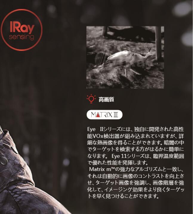 IRAY EyeIIシリーズ E6Pro V3.0