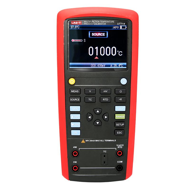 UTI 多機能温度プロセス校正器 UT714