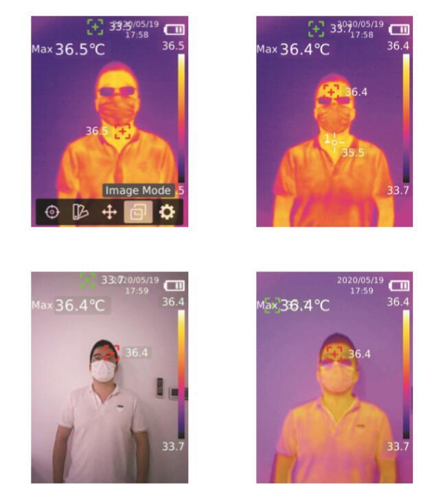 UTI 高精度サーモグラフィー 非接触温度計 UTi260K