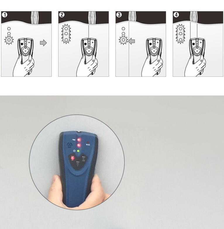 CEM スタッド/金属/AC電圧ケーブル検出器 LA-101