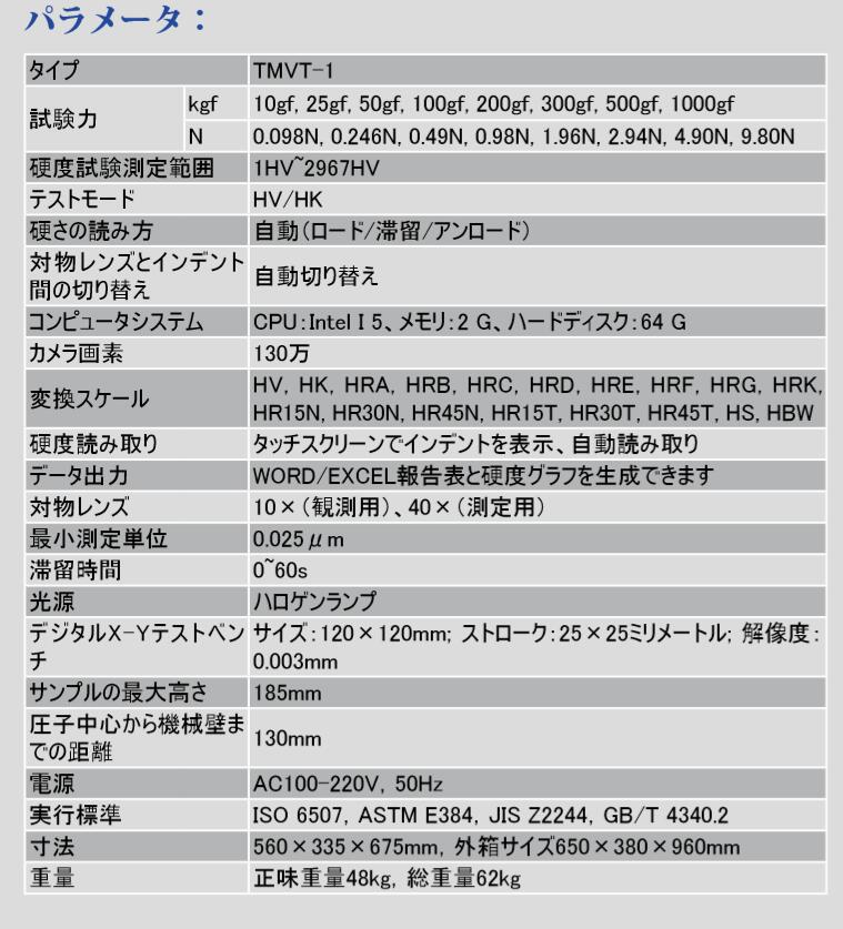 TIME ビッカース硬度計TMVT-1