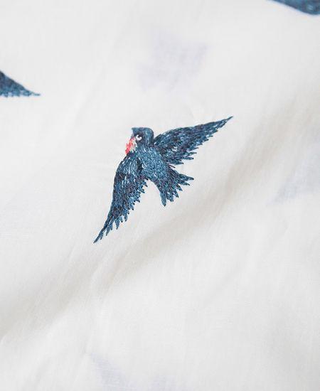 STASTNY SU シュチャストニースー 青い鳥 シャツワンピース