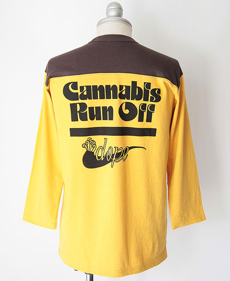 FREEWHEELERS フリーホイーラーズ CANNABIS RUN OFF (LEMON PEPPER × C.BLACK)