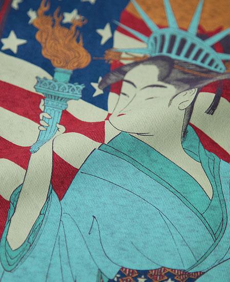 "FREEWHEELERS フリーホイーラーズ "" 自由婦女人相 "" (W.NAVY × S.CREAM × CHILI)"