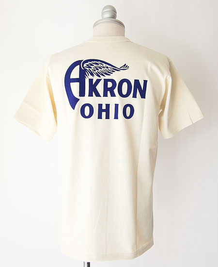 "FREEWHEELERS フリーホイーラーズ  HOME OF U.S. "" AKRON "" (STRAW CREAM)"