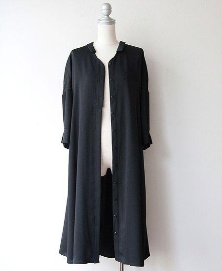 everlasting sprout エバーラスティングスプラウト ベネシャン生地のワンピースドレス