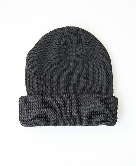 COLIMBO コリンボ ADMIN BOX WATCH CAP (LAMP BLACK)
