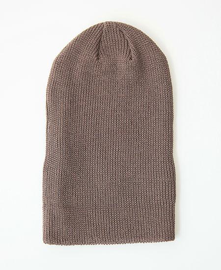 COLIMBO コリンボ ADMIN BOX WATCH CAP (BNT UMBER)