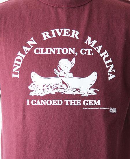 "COLIMBO コリンボ PRINTED T-SHIRTS "" Indian River Marina "" (BOR DEAUX)"