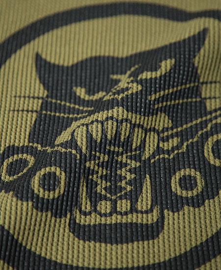 "FREEWHEELERS フリーホイーラーズ  CREW NECK THERMAL LONG SLEEVE "" U.S. ARMY TDB 801st SQ "" (COYOTE)"