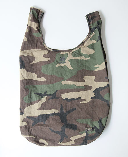 COLIMBO コリンボ MULE SKINNER POCKETABLE BAG (WOOD LAND CAMO)