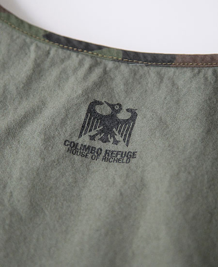 COLIMBO コリンボ MULE SKINNER POCKETABLE BAG (GRS GREEN)