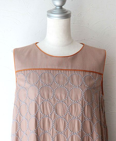 mina perhonen ミナペルホネン tambourine タンバリン ワンピース ドレス (ランドリー) (ld3082)